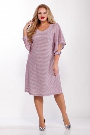 Платье 1096 розовый