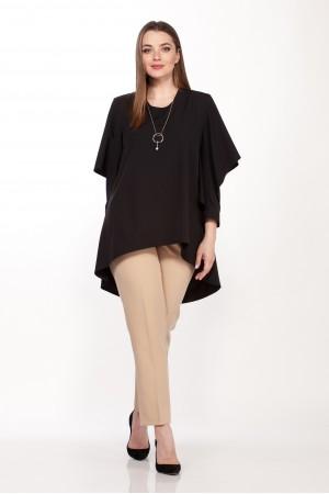 Блузка 5071 черная