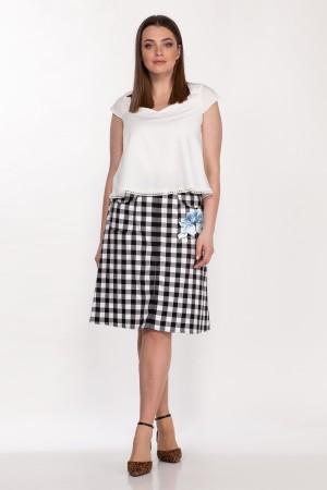Комплект двойка 2138, юбка 4044, блузка 5058