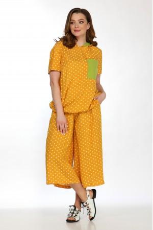 Комплект 2159, блузка 5103, шорты 4050