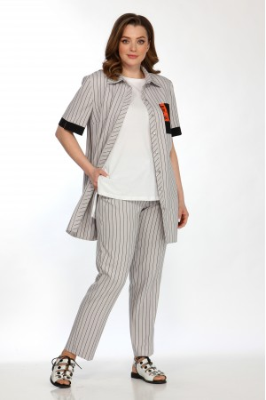 Комплект 2163, блузка 5105, брюки 4054